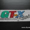 สติ๊กเกอร์สะท้อนแสงติดรถ GT-X