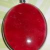 (ขายแล้วค่ะ) G01 จี้หินมอกาไนต์(ทับทิม) เม็ดใหญ่