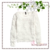 H&M / Chenille Sweater (Size M /#White)