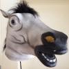 หน้ากากหัวม้าไทย สีขาว