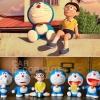 คละแบบ - ตุ๊กตาเซ็ต Doraemon STAND BY ME NOBITA โดเรม่อน 6 ชิ้น วางตกแต่งหน้ารถยนต์