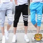 กางเกงผู้ชาย | กางเกงแฟชั่นผู้ชาย กางเกงสามส่วน แฟชั่นฮ่องกง