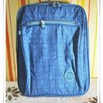 กระเป๋า notebook สะพายหลัง 3 สไตล์ โทนฟ้า Deep Sky กระเป๋าโน้ตบุ๊ค สะพายข้าง ราคาถูก KP017