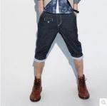 กางเกงผู้ชาย | กางเกงยีนส์ชาย กางเกงยีนส์ขาlสั้นแแฟชั่นฮ่องกง