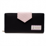 กระเป๋าสตางค์ Samilon สีดำ ขนาดยาว
