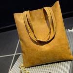 กระเป๋าสะพายข้าง กระเป๋าถือ ผู้หญิง ทรงแบน สี่เหลี่ยม กระเป๋าหนัง สีพื้น สีน้ำตาล ขายดี กระเป๋าใส่ของเที่ยว ใส่เครื่องสำอางค์ ขนาดกำลังดี 775786_2