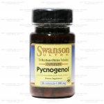 Swanson Ultra Pycnogenol 100 mg 30 แคปซูล สารสกัดจากเปลือกสนฝรั่งเศส เปลือกสนมาริไทม์ สุดยอดอาหารเสริม ลดฝ้า กระ ต้านอนุมูลอิสระ ผิวขาว หน้าใส สำเนา