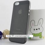 ซื้อ 1 แถม 1 Case ใส่ Iphone 5 5s แบบใส สีดำ