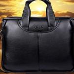 กระเป๋าถือผู้ชาย Polo กระเป๋าหนัง สีดำ สีน้ำตาล ใส่ Note book ใส่เอกสาร มีหูหิ้ว กระเป๋าหนังสะพายข้างได้ ถือได้ เรียบหรู สไตล์ นักบริหาร 967166
