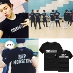 Preorder เสื้อ BTS บีทีเอส 2015LIVE TRILOGY บังทัน [Black/white]
