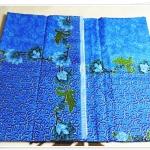 ผ้าถุงสำเร็จรูป สีฟ้า