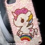 My little Pony Unicorn Case Iphone 6 and iPhone 6 Plus crystal handmade 100% เคสสวยประดับคริสตัลแท้โพนี่ที่คุณเลือกสีเลือกแบบได้ ID: A249