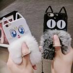 หยุดไม่อยู่กับเคสไอโฟน 7 พลัสน่ารักขนมิ้งค์นุ่มฟูจับถนัดมือเคสสวย iphone 7 case
