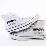 รองเท้า 2PM สีขาว