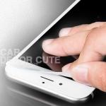 ฟิล์มกันรอยหน้าจอ สีขาว IPHONE 3D ป้องกันขอบแตกร้าว ขอบนุ่ม IPHONE6, IPHONE6S ขนาดจอ 4.7 นิ้ว