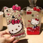 Case iPhone 6/6Plus kitty เคสไอโฟน 6 แบบเก๋น่ารักคิดตี้เคสซิลิโคน ID: A277