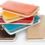 กระเป๋าสตางค์ผู้หญิง หนังแก้ว เงาวับ ใบยาว กระเป๋าสตางค์ แฟชั่น หนัง pu สุดหรู สีสันสดใส ซิปรอบ ใส่โทรศัพท์ได้ ใส่บัตรได้เยอะ 40463