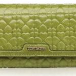กระเป๋าสตางค์หนังแท้ กระเป๋าสตางค์ผู้หญิงขนาดกลาง แบบวัยรุ่น ปั้มลายหัวใจนูน แฟชั่นดีไซน์เก๋ ๆ กระเป๋าสตางค์ถือออกงาน 981293