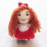 ตุ๊กตาถักเด็กผู้หญิง