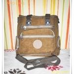 กระเป๋าถือ กระเป๋าสะพาย Kipling สีน้ำตาล