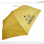 ร่มพับได้ ร่มกันแดด กันฝน Angry Bird สีเหลือง