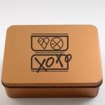 กล่องเหล็ก EXO xoxo 款【CTH062】