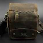 กระเป๋าสะพายข้าง กระเป๋าคาดเอว กระเป๋าหนังวัวแท้ สไตล์วินเทจ แบบคลาสสิค กระเป๋าใส่โทรศัพท์ กุญแจรถ กระเป๋าสตางค์ ใส่กับ เข็มขัด เพื่อความสะดวก 882236