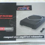 SUB BOX 8 นิ้ว CAR-X 820D