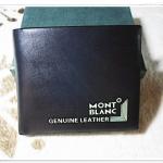 กระเป๋าสตางค์ผู้ชาย สีดำ Mont Blanc m10315