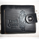กระเป๋าสตางค์ Levis หนังแท้สีดำ no3
