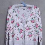 เสื้อคลุมแฟชั่นลายดอกไม้