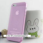 ซื้อ 1 แถม 1 Case ใส่ Iphone 5 5s แบบใส สีชมพู