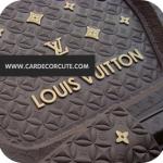 LOUISVUITTON-ถาดยางปูพื้นรถยนต์