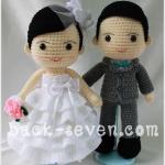 ตุ๊กตาแต่งงาน แบบ C