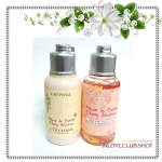 L'occitane / Bath & Shower Gel 75 ml. + Shimmering Lotion 75 ml. (Cherry Blossom) *หอมมาก