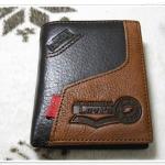 กระเป๋าสตางค์ Levis หนังแท้ ใบสั้น ทูโทน Le5607