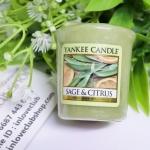 Yankee Candle / Samplers Votives 1.75 oz. (Sage & Citrus)