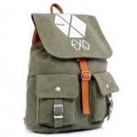 Preorder กระเป๋าเป้ EXO Green [ผ้าแคนวาสหนา]