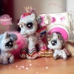 My little pony key ring, bunch of keys unicorn pony รวมพลคนรักน้องโพนี่แสนสวยสั่งทำพวงกุญแจโพนี่คริสตัลหรูอลังการ ID: A228