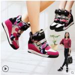 รองเท้าผ้าใบผู้หญิง มีไซต์ 35 36 37 38 39 40(เสริมส้นสูง)