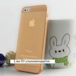 ซื้อ 1 แถม 1 Case ใส่ Iphone 5 5s แบบใส สีส้ม