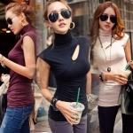 เสื้อแฟชั่นผู้หญิง เสื้อแฟชั่นสไตล์เกาหลี S M L XL