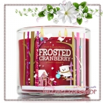Bath & Body Works Slatkin & Co / Candle 14.5 oz. (Frosted Cranberry)