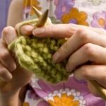 การถัก Knitting