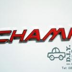 โลโก้ CHAMP สีแดง