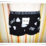 กางเกงในชาย เนื้อนุ่ม สีดำ DG004