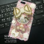 ของขวัญวันเกิดให้แฟนเคสไอโฟน6คิตตี้ กรอบมือถือสำหรับคนรักคิตตี้ Kitty case iphone 6 crystal ID: A305