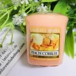 Yankee Candle / Samplers Votives 1.75 oz. (Peach Cobbler)