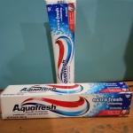 ยาสีฟัน Aqua fresh extra whitening จาก U.S.A.