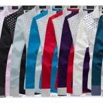 เสื้อเชิ้ตผู้ชาย เสื้อเชิ้ตแขนยาว ดีไซน์ เสื้อเชิ้ตวัยรุ่น ลายจุด ที่ช่วงอก แขนยาว พับ เป็น 2 ลาย ลายสีขาว ตัดเฉียง แบบสวย มีสไตล์ 895977